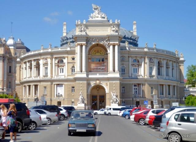 Opera and Ballet theatre (Odessa, Ukraine, 2017)