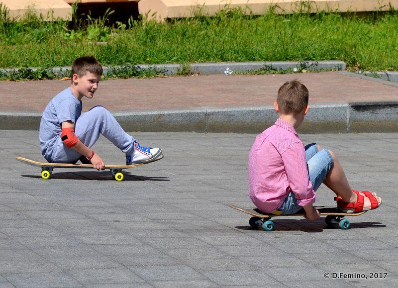 A funny race (Odessa, Ukraine, 2017)