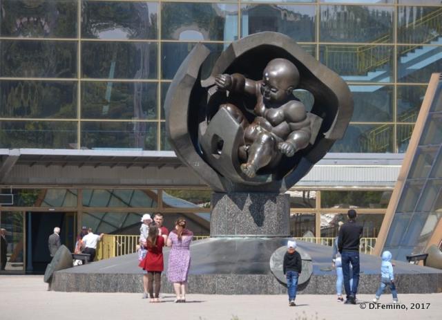 Golden age monument (Odessa, Ukraine, 2017)