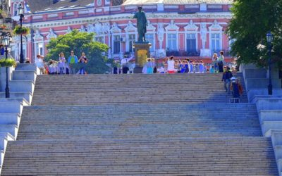 Potyomkin Stairs in Odessa