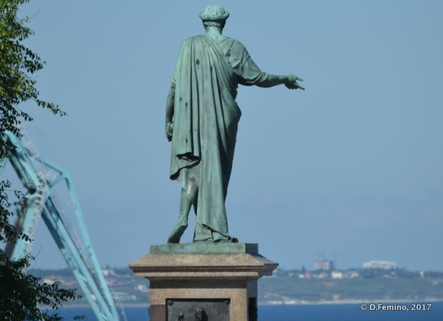 Statue of Duc de Richelieu (Odessa, Ukraine, 2017)