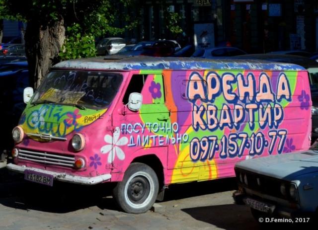 Hippies van (Odessa, Ukraine, 2017)