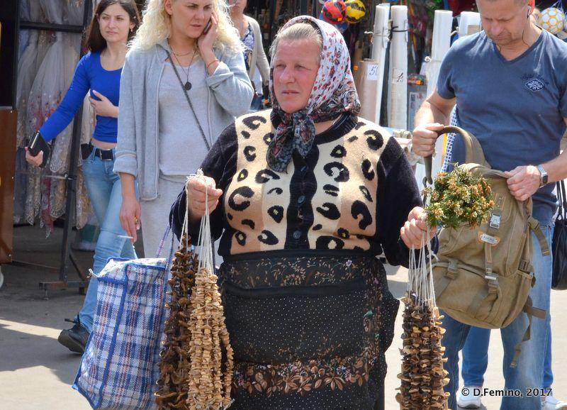 Dried fruits seller (Odessa, Ukraine, 2017)