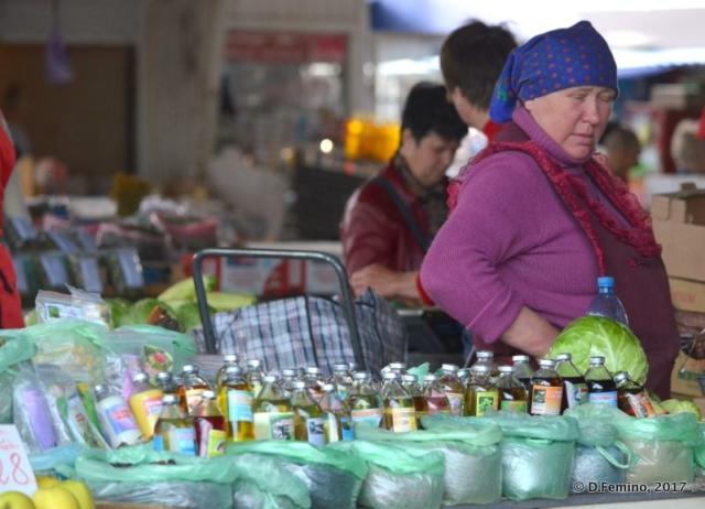 Selling essences (Odessa, Ukraine, 2017)