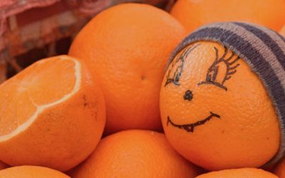 Even oranges smile at Privoz Market
