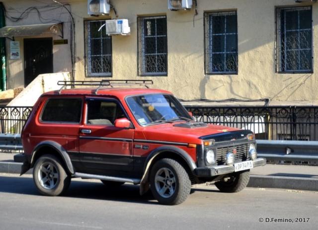My favourite car (Odessa, Ukraine, 2017)
