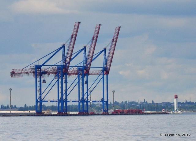 Tower cranes (Odessa, Ukraine, 2017)