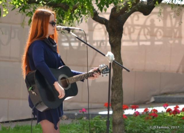 A rocker girl (Odessa, Ukraine, 2017)