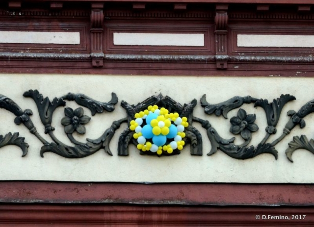 Ukrainian colours (Odessa, Ukraine, 2017)
