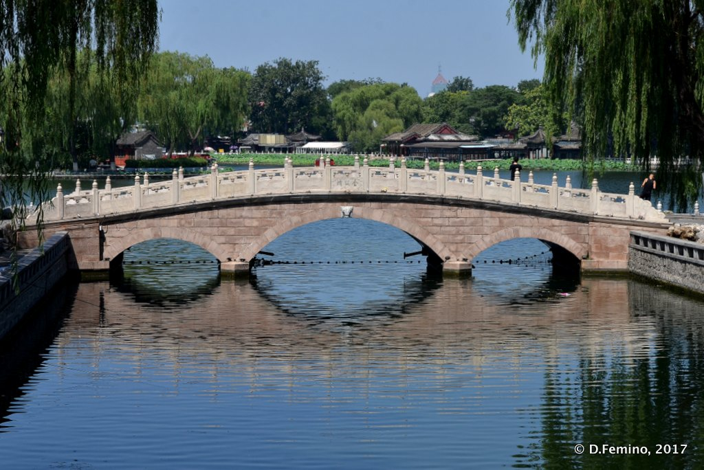 Bridge in Dongbuyaqiao Hutong