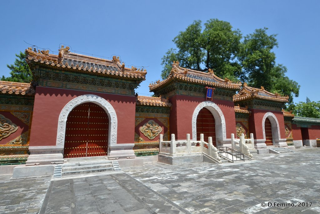 Chanfu Temple in Beihai park