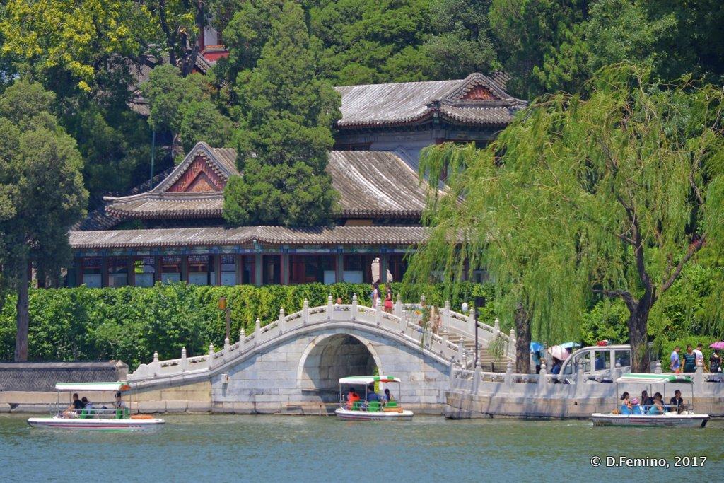 A glimpse of Beihai park