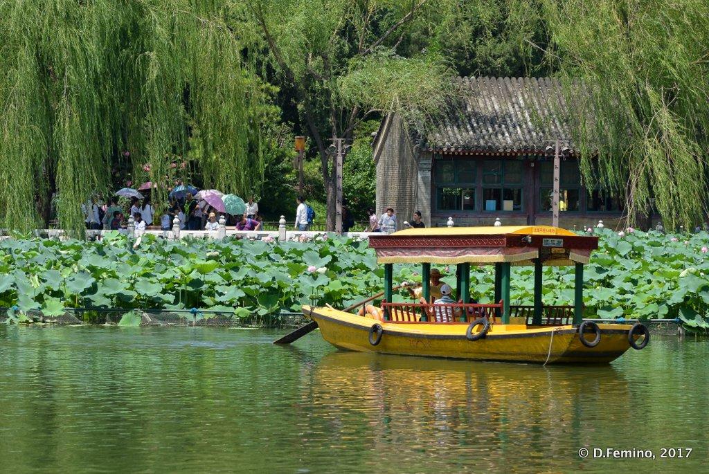 On Beihai lake