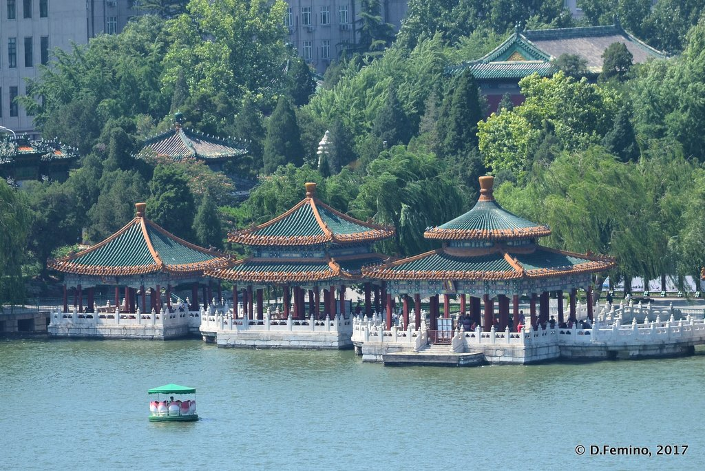 View of Beihai park