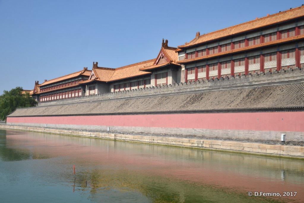 Outer walls of Forbidden City