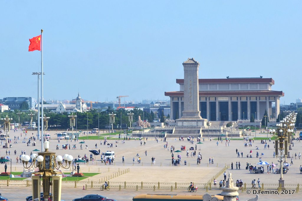 View of Tienanmen square