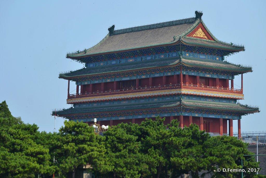 Temple in Tienanmen square