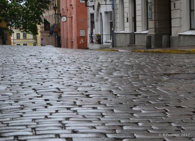 Old town cobbled street (Tallin, Estonia, 2017)