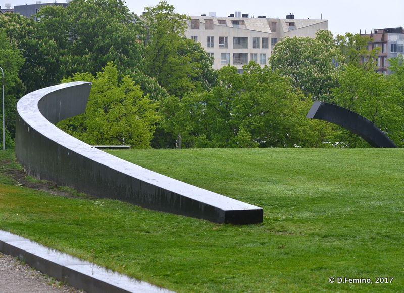Monument in memory of Estonia ferry victims (Tallin, Estonia, 2017)