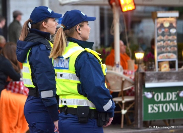 Beautiful police women (Tallin, Estonia, 2017)