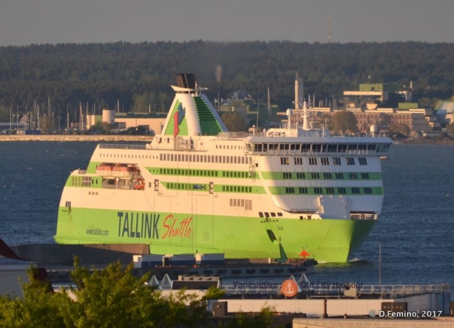 Ferry from Finland (Tallin, Estonia, 2017)