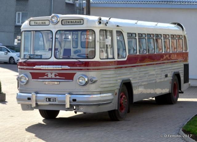 Old bus to Leningrad (Tallin, Estonia, 2017)