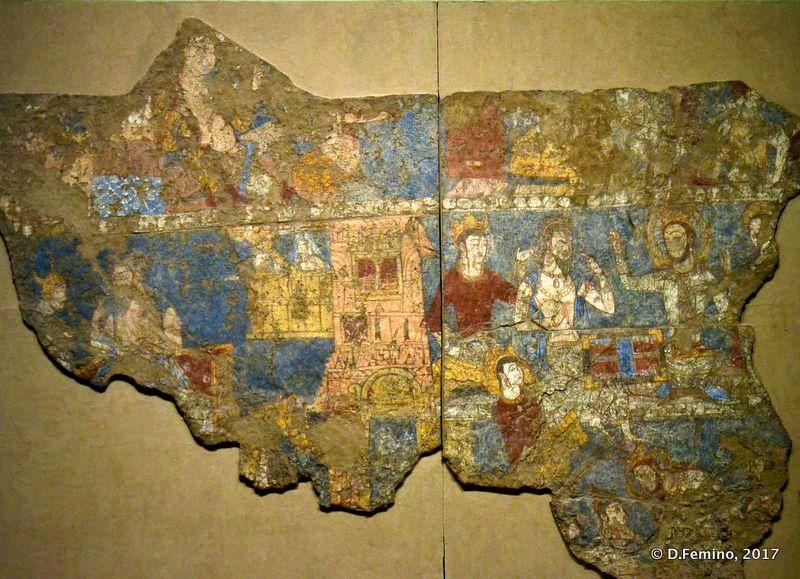 Ancient frescos from Volga Bulgaria
