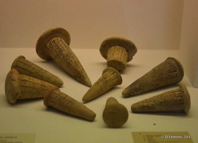 Sumerian cuneiform inscriptions