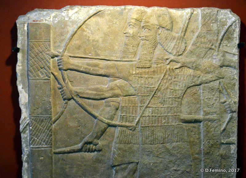 Sumerian bas-relief