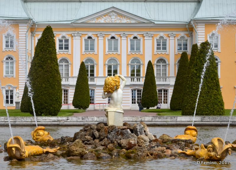 Great Peter Palace (Peterhof, Russia, 2017)