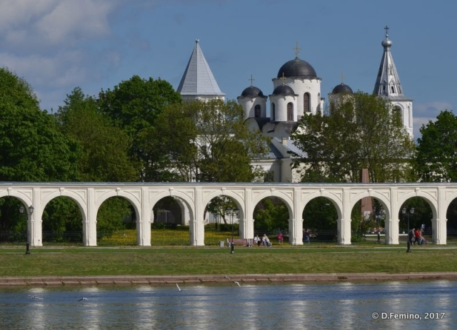 Yaroslav's Court (Veliky Novgorod, Russia, 2017)