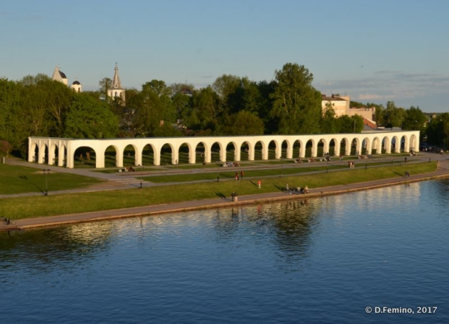 Yaroslav's Court on the Volkhov river (Veliky Novgorod, Russia, 2017)