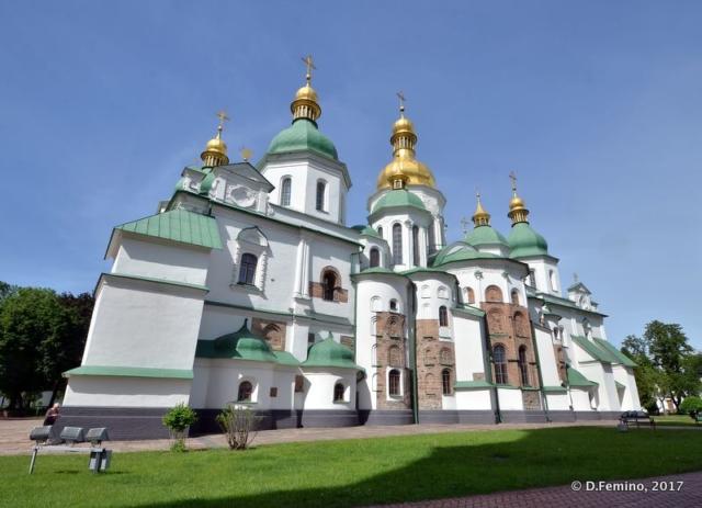 Saint Sofia Cathedral (Kiev, Ukraine, 2017)