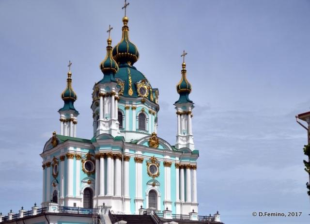 Saint Andrew's Church (Kiev, Ukraine, 2017)