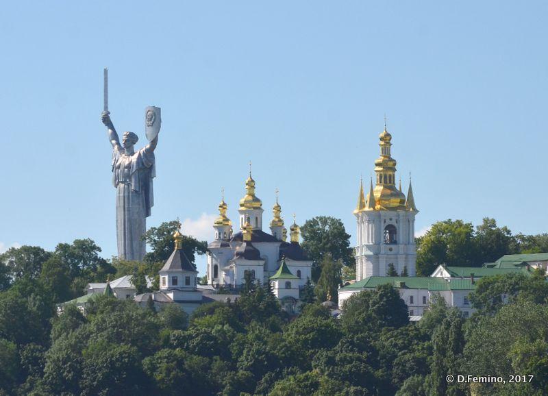 View of Pechersk Monastery (Kiev, Ukraine, 2017)