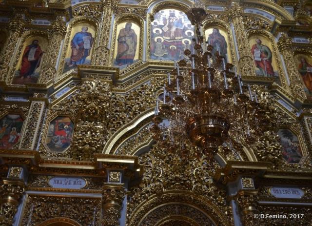 Altar in Kiev Pechersk Lavra (Kiev, Ukraine, 2017)