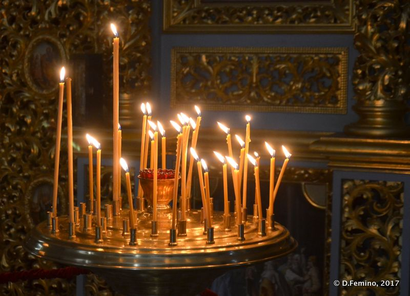 Atmospheric candles (Kiev, Ukraine, 2017)