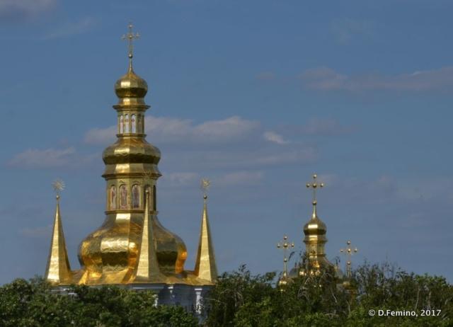 Domes over Kiev (Kiev, Ukraine, 2017)