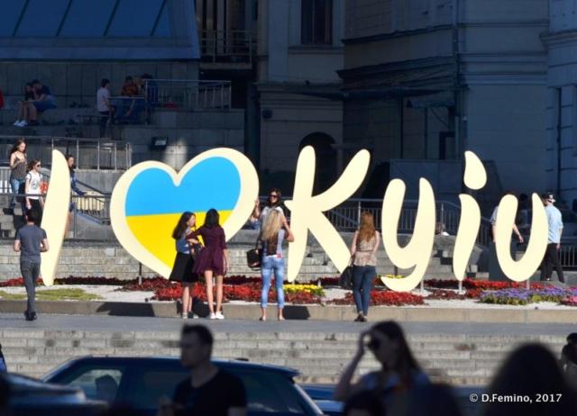 Loving Kiev sign (Kiev, Ukraine, 2017)