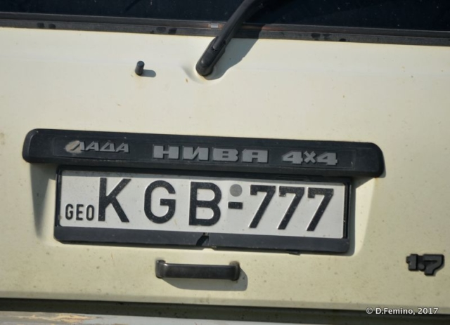 KGB car... almost (Kutaisi, Georgia, 2013)