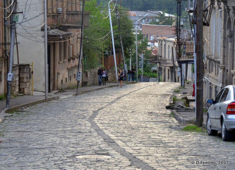 Walking down to town (Kutaisi, Georgia, 2013)