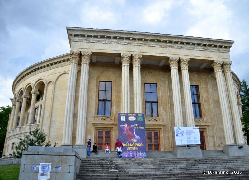 Drama theatre (Kutaisi, Georgia, 2013)