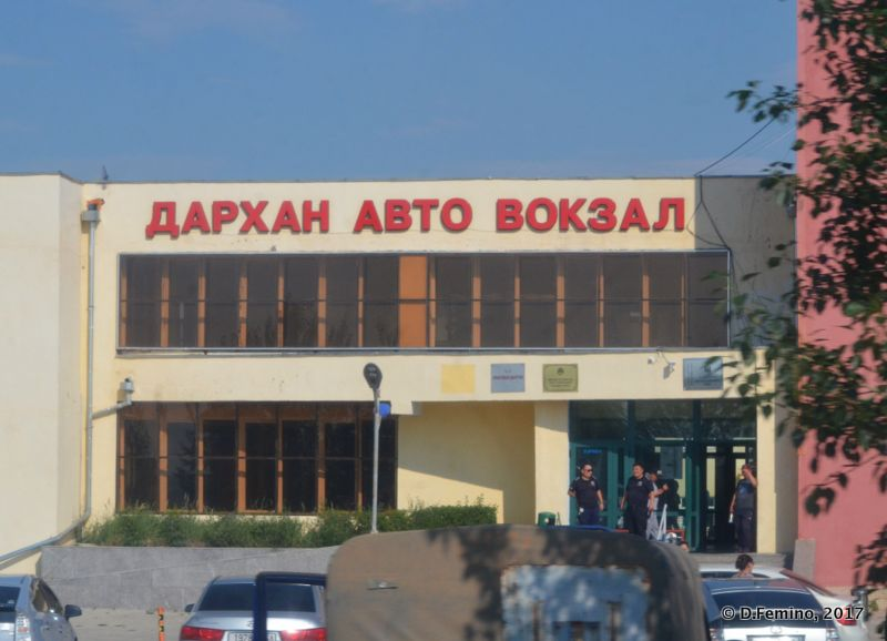 Bus station (Darkhan, Mongolia, 2017)