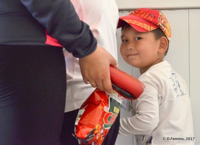 Little boy (Darkhan, Mongolia, 2017)