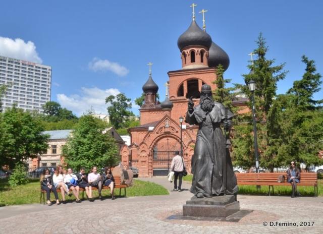 Staroobryadcheskoy church (Kazan, Russia, 2017)