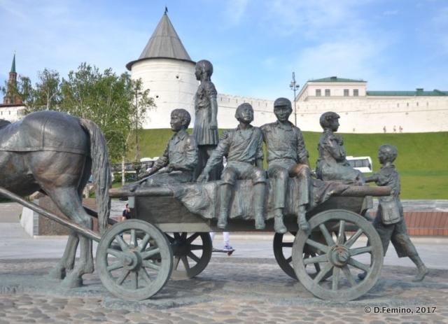 Barrow monument (Kazan, Russia, 2017)