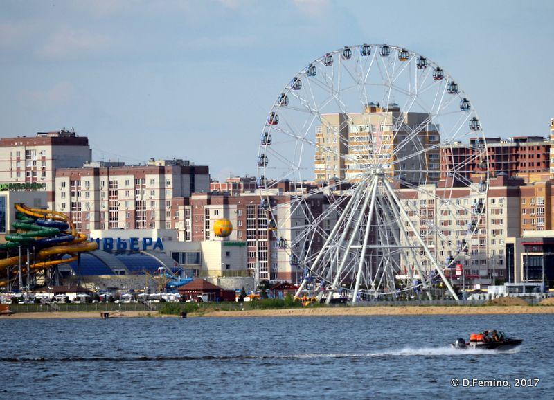 Amusement park (Kazan, Russia, 2017)