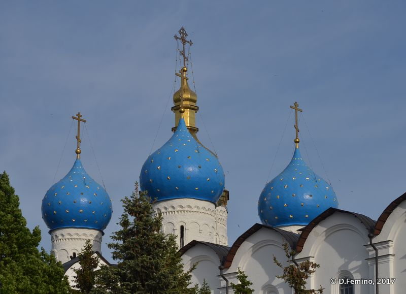 Blue domes (Kazan, Russia, 2017)