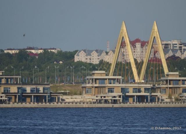 Millenium bridge (Kazan, Russia, 2017)
