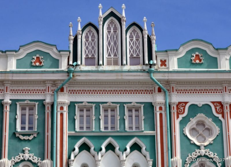 Sevastianov's house (Yekaterinburg, Russia, 2017)